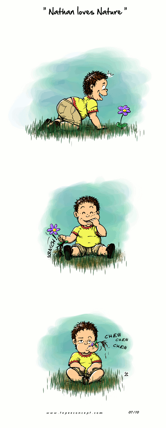Nathan loves Nature