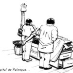 À l'hopital