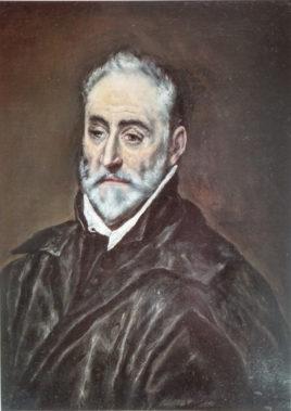 Portrait de « Antonio de Covarrubias » par Le Greco